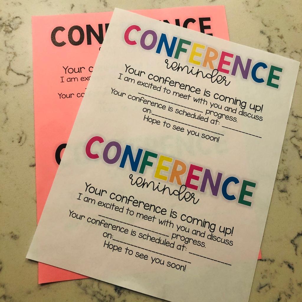 parent-teacher-conference-forms